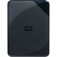 WD - Gaming Drive 4TB External USB 3.0 Portable Hard Drive - Black Top With Blue Bottom