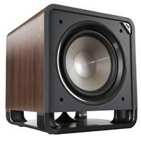 "Polk Audio HTS 12"" Powered Washed Black Walnut Subwoofer"