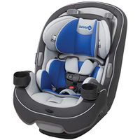 Safety 1st Safety 1ˢᵗ Grow and Go 3-in-1 Convertible Car Seat, Carbon Wave, Grey, Blue