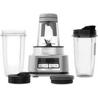 Ninja - Ninja. Foodi Power Nutri Duo. Smoothie Bowl Maker and Personal Blender 1200WP smartTORQUE 4 Auto-iQ. Presets - Silver