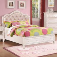 Cindy Deluxe 3-piece Bedroom Set - Cindy Deluxe 3 PC Twin Bedroom Set