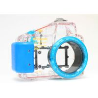Polaroid Dive Rated Waterproof Underwater Housing Case For Sony Alpha NEX-5N Digital Camera WITH A 16mm Lens