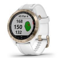Garmin Approach S40 Light Gold With White Band GPS Golf Watch