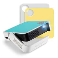 Viewsonic Ultra-portable Pocket LED Smart Projector with 1080p Support 0.6 lbs net. - White
