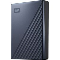 WD - My Passport Ultra 4TB External USB 3.0 Portable Hard Drive with Hardware Encryption - Blue