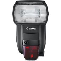 Canon - Speedlite 600EX II-RT External Flash - Black