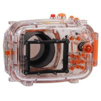 Polaroid Dive Rated Waterproof Underwater Housing Case For Nikon J1 Digital Camera WITH A 10-30mm Lens