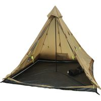 High Peak Outdoors Buffalo Hunter 6 Person Tent - tan
