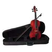 Becker 175A Prelude Violin Outfit 1/2, Red-Brown Satin