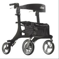 Luxury Nitro Elite Carbon Fiber Ultra Lightweight Rollator