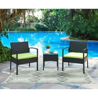 DG Casa San Juan Two Chairs and Table Patio Set - Dining Sets