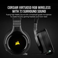 CORSAIR - VIRTUOSO RGB Wireless Stereo Gaming Headset - Carbon