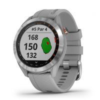 Garmin Approach S40 Stainless Steel With Powder Gray Band GPS Golf Watch