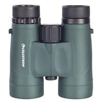 Celestron 10x42 Nature DX Water Proof Roof Prism Binocular, with 5.8 deg. Angle of View, Green