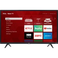 "TCL - 32"" Class - LED - 3-Series - 720p - Smart - HDTV Roku TV"