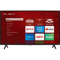"TCL - 40"" Class - LED - 3-Series - 1080p - Smart - HDTV Roku TV"
