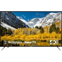 "Westinghouse - 58"" Class - LED - 2160p - Smart - 4K UHD TV with HDR - Roku TV"